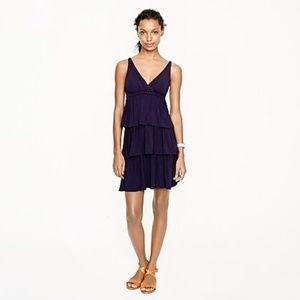 JCrew Tiered Ruffle Dress Sz XL